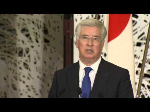 UK defense chief speaks out on South China Sea row