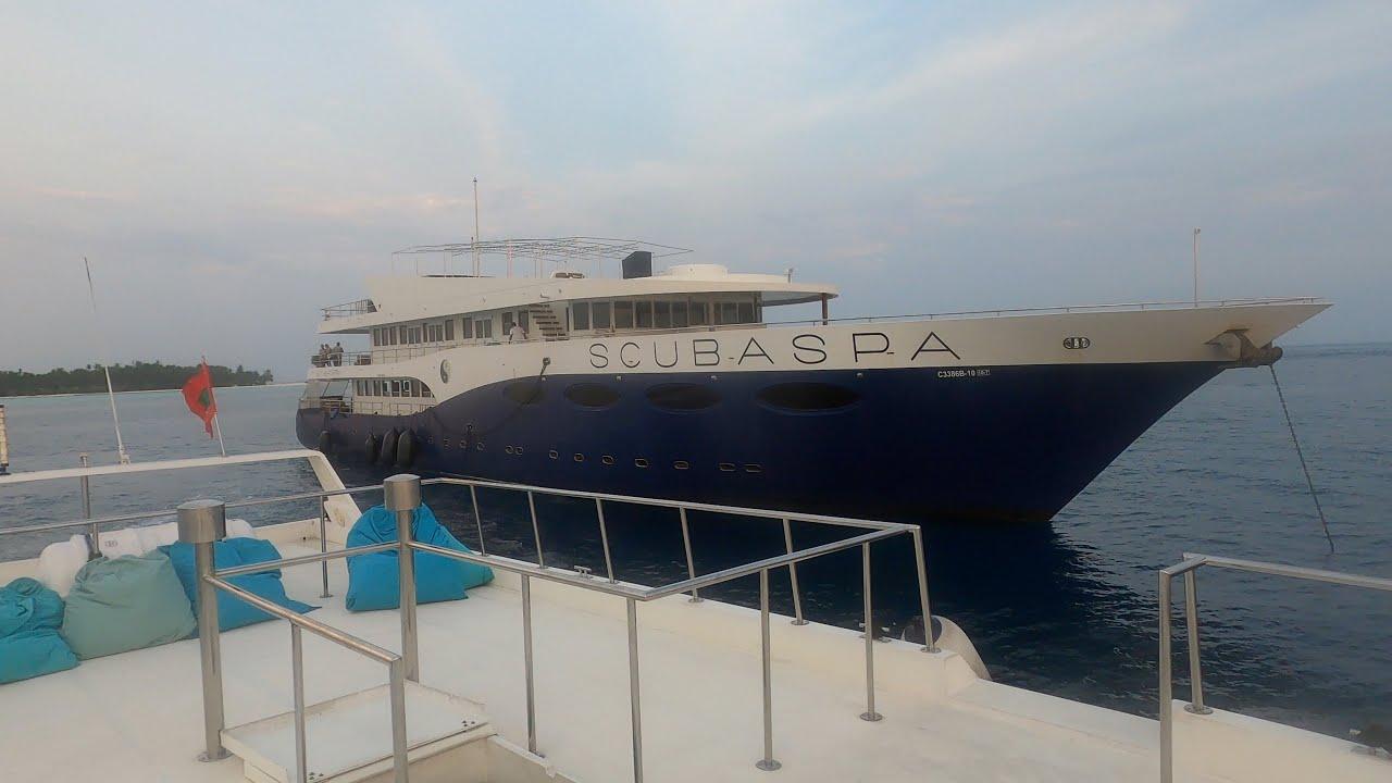 Best liveaboard in Maldives at ScubaSpa