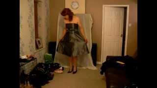 satin dress ( crossdresser )