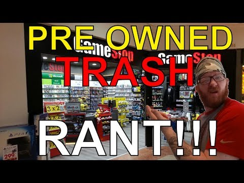 Gamestop Black FRIDAY TRASH I GOT (RANT!!!!)