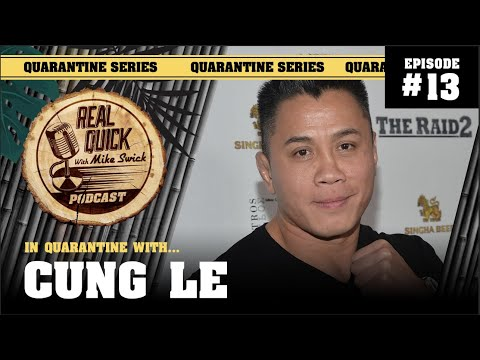 Great conversation with Cung Le now posted! Video and timestamps...
