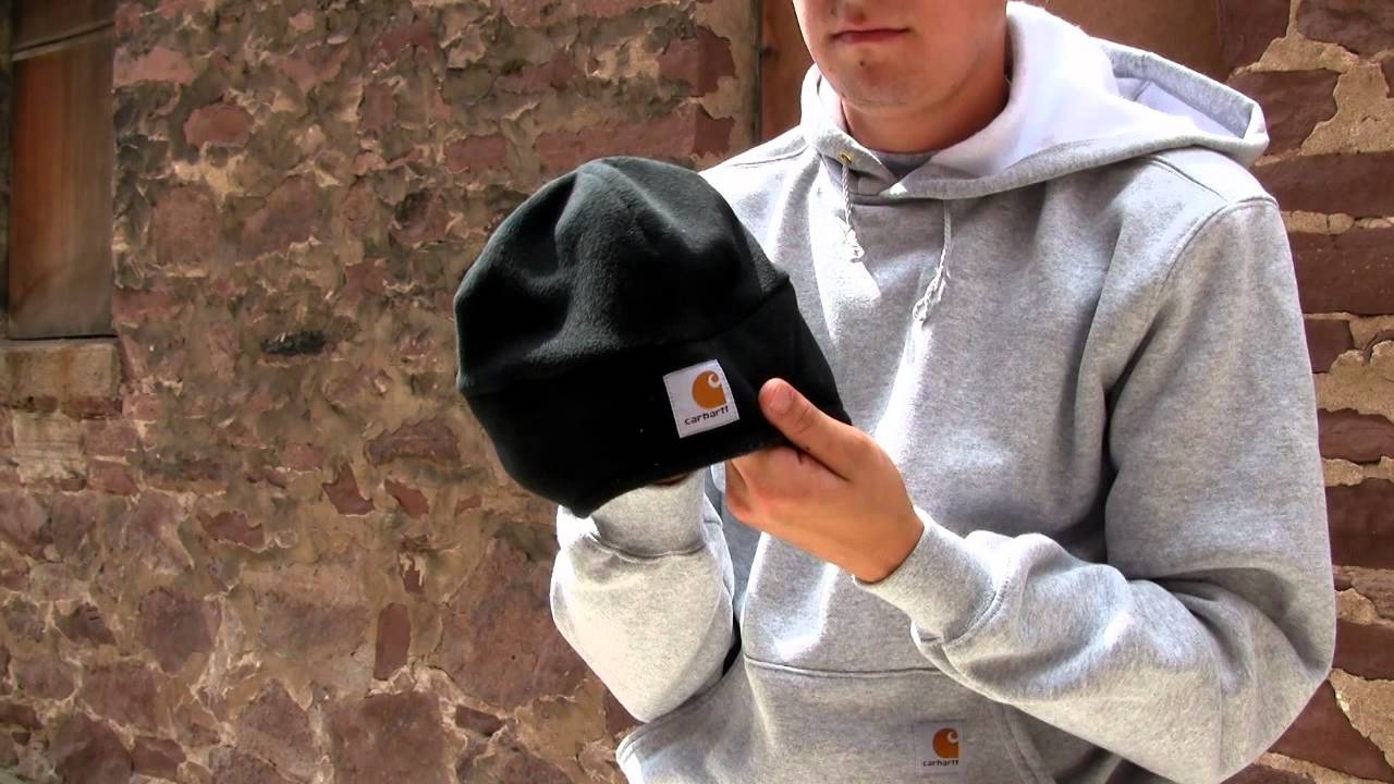 52ce0a8a68f Carhartt Fleece 2-in-1 Headwear - A202 - Getzs.com - YouTube