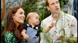 Prince william and Kate Middleton, Prince George at the Natural History Museum in London