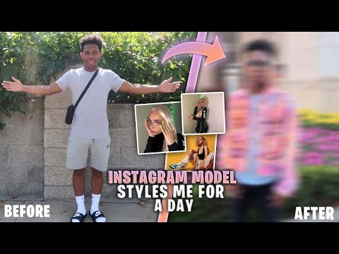 FAMOUS INSTAGRAM MODEL STYLES ME FOR A DAY!