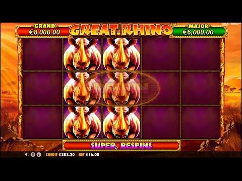 Great Rhino Rhino Slot Info By Pragmatic Play Slothunterz