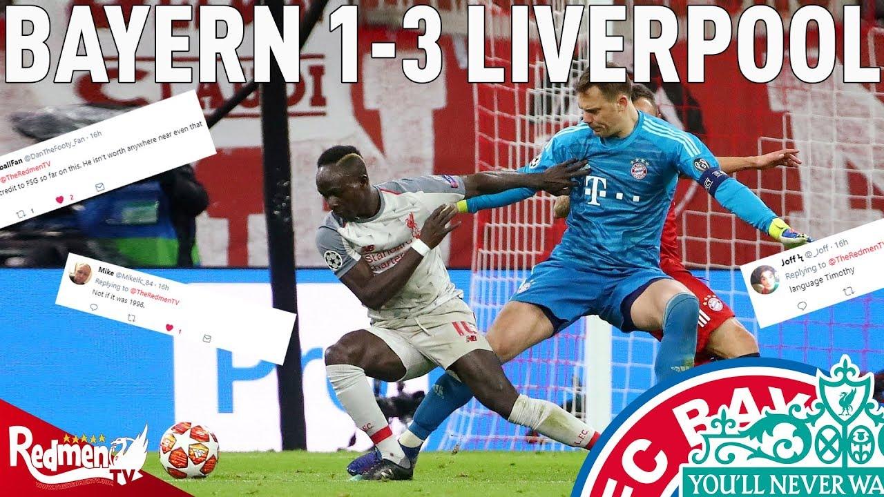Bayern Vs Liverpool Photo: Bayern Munich V Liverpool 1-3