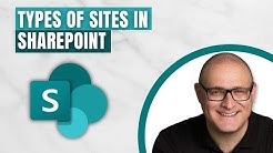 4 types of sites in SharePoint Online