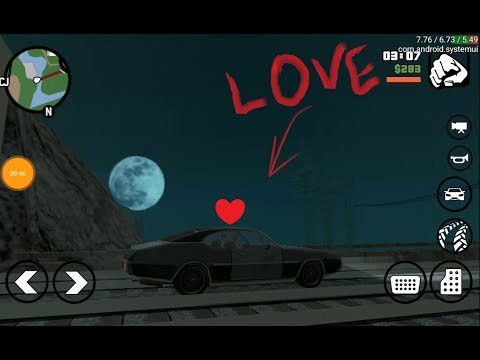 GamePlay GTA San Andreas versão Android - Teste Moto G5 XT1672