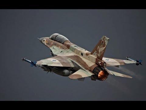 BREAKING ALERT Israel Air Strikes Iranian military bases near Damascus Syria December 2017 News