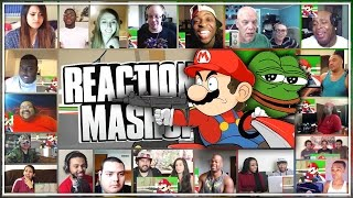 "Racist Mario Reaction's Mashup ""HE SAVAGE!"" (YouTuber's React)"
