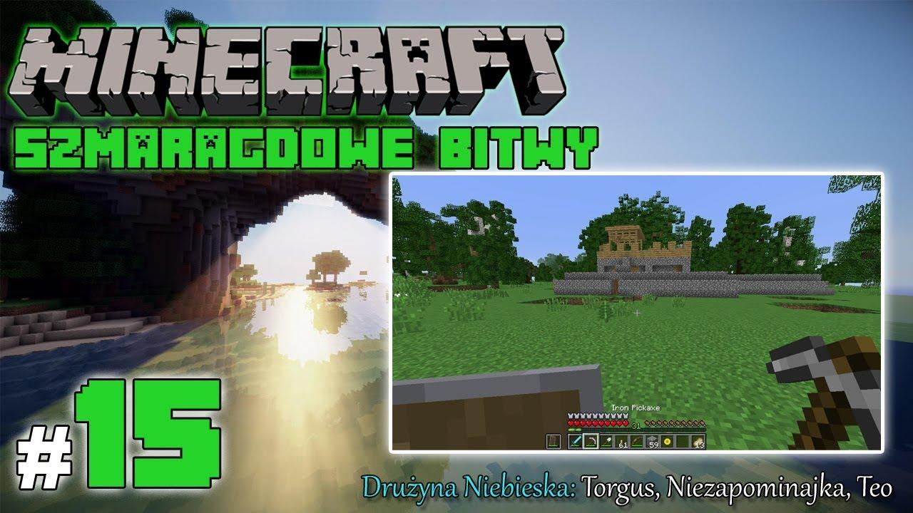 """Minecraft: Szmaragdowe Bitwy [Drużyna Niebieska] odc. 15 – """"Zagubieni"""""""