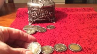 Памятные финские монеты 2 евро(Показываю финские памятные монеты., 2016-11-05T15:33:24.000Z)