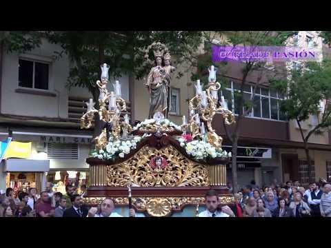 Procesión de María Auxiliadora Coronada de Cádiz 2018