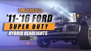11-16 Ford F250 Morimoto Hybrid Install and Review   Headlight Revolution