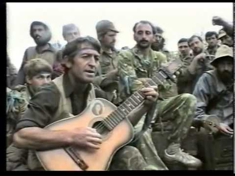 Грузино-абхазская война 1992-93 г. Армянский батальон.Часть-1. 480p.