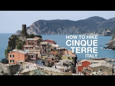 Hiking All Of Cinque Terre, Italy IN ONE DAY