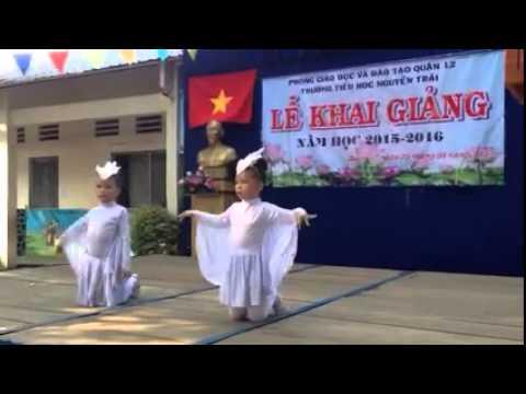 Điệu múa con cò Trường Nguyễn Trãi Q12