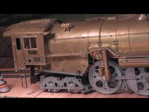 G Scale Brass DE AGOSTINI JNR 4-6-4 Japanese National Railways Rare DeAgostini !