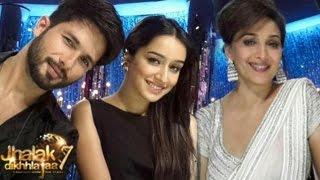 Shahid Kapoor & Shraddha Kapoor on Jhalak Dikhhla Jaa 7 23rd August 2014 episode