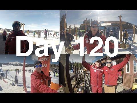 Day 120: Snowboarding 4 Ski Resorts In One Day! Vail, Beavercreek, Breckenridge, Keystone