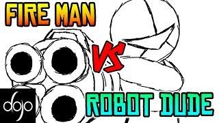 fire-man-vs-robot-dude-by-shamalama