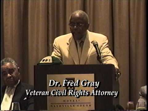 "The Gospel Truth   ""Dr Fred Gray""  Veteran Civil Rights Attorney"