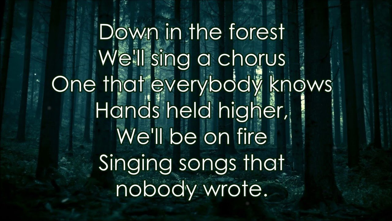 Twenty e Pilots Forest Lyrics