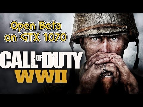Call of Duty WWII Gameplay on GTX 1070 PC
