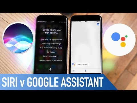 Siri v Google Assistant on iOS