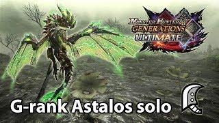 MHGU   G-rank Astalos solo (Valor Great Sword) - 3'38
