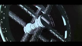 2001: A Space Odyssey Re-Scored - Blue Danube Scene- Ambient Guitar