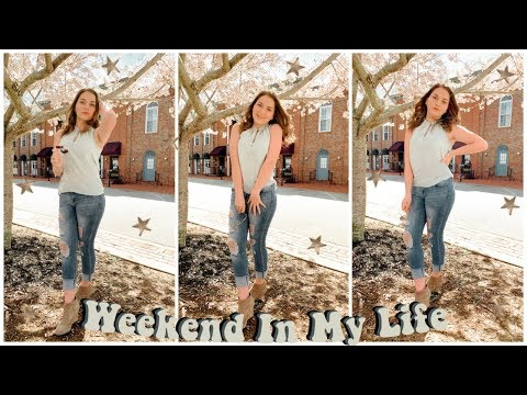 A WEEKEND IN MY LIFE  // Instagram Photoshoot + Shopping | Tarrah Hodge