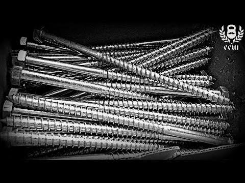 Виктор Блуд и Силачи Старой Школы - Опрокидывание Болта На 3 Части