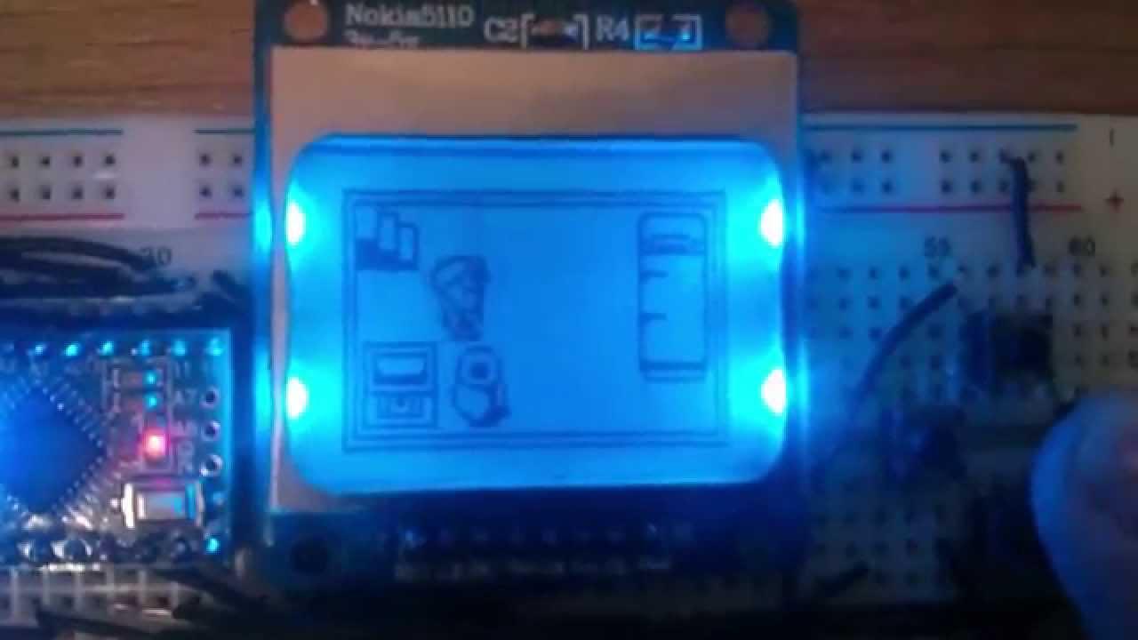 Game com arduino pro mini youtube
