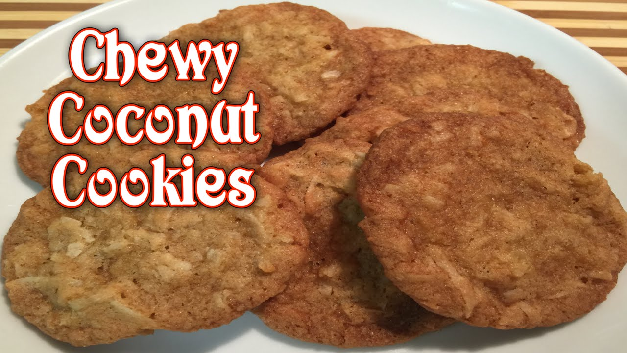 Chewy Coconut Cookies - YouTube