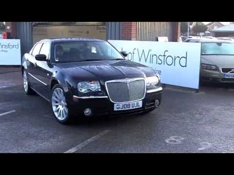 Used chrysler 300c diesel saloon 2008 3 0 v6 crd srt for Chrysler 300c diesel