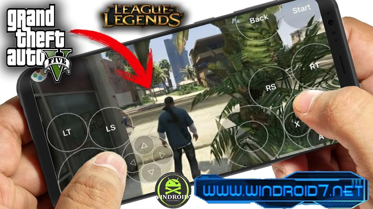 Emulador De Ps4 Xbox Y Pc Para Android Gta V Real Y Mas Juegos