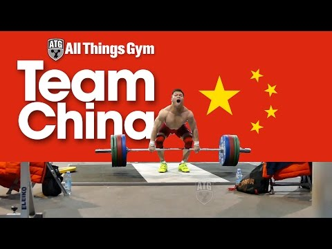 Chinese Weightlifting Team 2014 Worlds Training Hall 07.11.2014 (First Day)