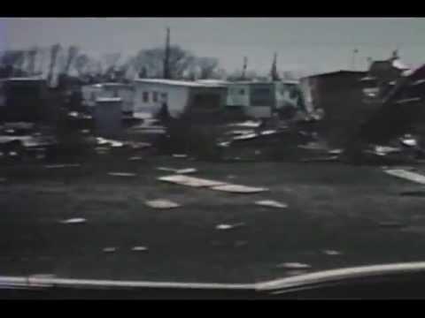 Vintage video of the 1965 Fridley, MN, Tornado Damage!