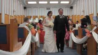 Elaine & Rolly Wedding Ceremony at Church of Christ