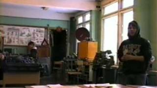 Урок труда в 8-Б, 2007 год