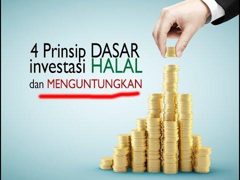 investasi yang menguntungkan dan halal