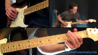 Day Tripper Guitar Lesson - Famous Riffs - The Beatles