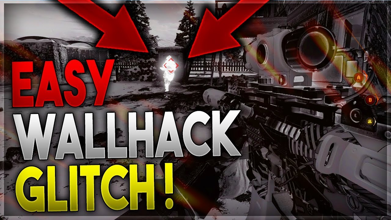 BO4 GLITCHES: INSANE WALL HACK GLITCH! SEE *ALL* ENEMIES THROUGH WALLS IN  ANY GAME!