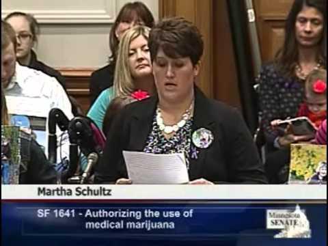 Senate Judiciary Hearing Martha Schultz