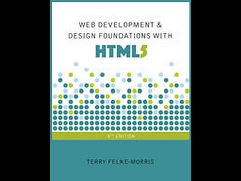 Web Development Design Foundations With Html5 Youtube