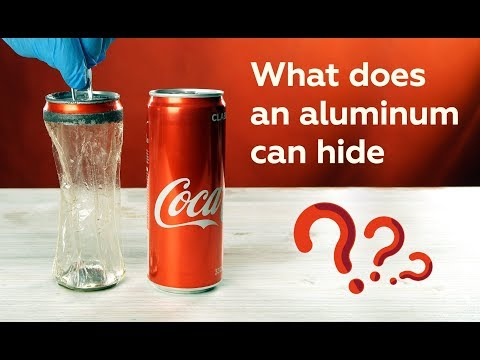 Viral Video Reveals The Bizarre Way You Can Make a Soda Can Fully Transparent
