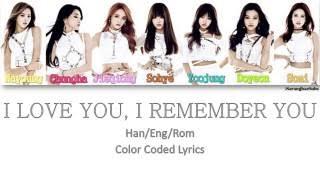 I.O.I - I LOVE YOU, I REMEMBER YOU (사랑해 기억해) [Color Coded Han|Rom|Eng|Esp]