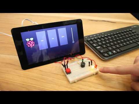 Kivy, GPIO, and the Raspberry Pi Touch Display - Matt Richardson