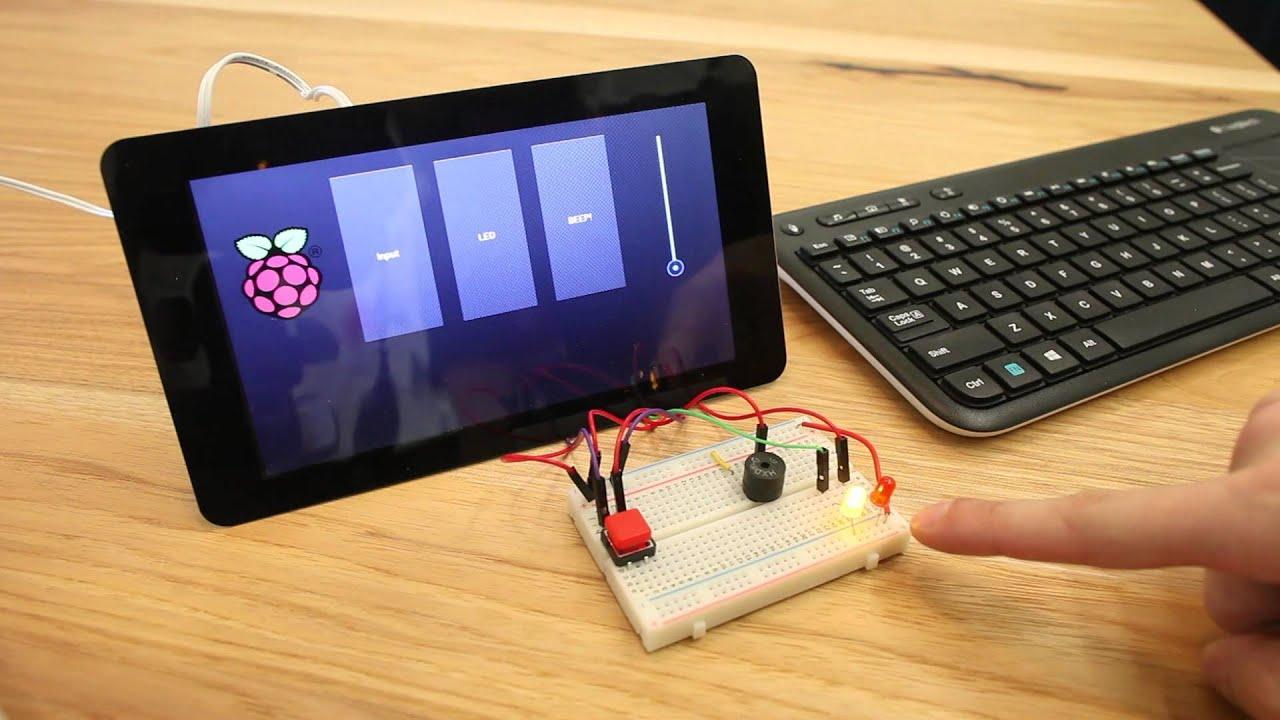 Kivy, GPIO, and the Raspberry Pi Touch Display - Matt